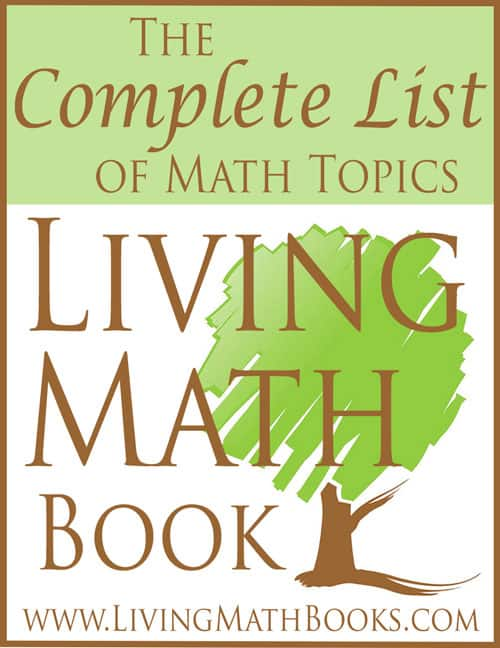 Complete List of Living Math Book Topics